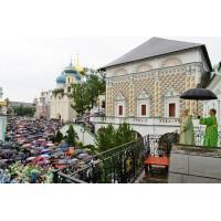 День памяти преподобного Сергия Радонежского в Троице-Сергиевой лавре