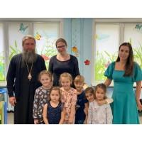 Митрополит Евгений с частным визитом посетил лицей духовной культуры во имя преподобного Серафима Саровского